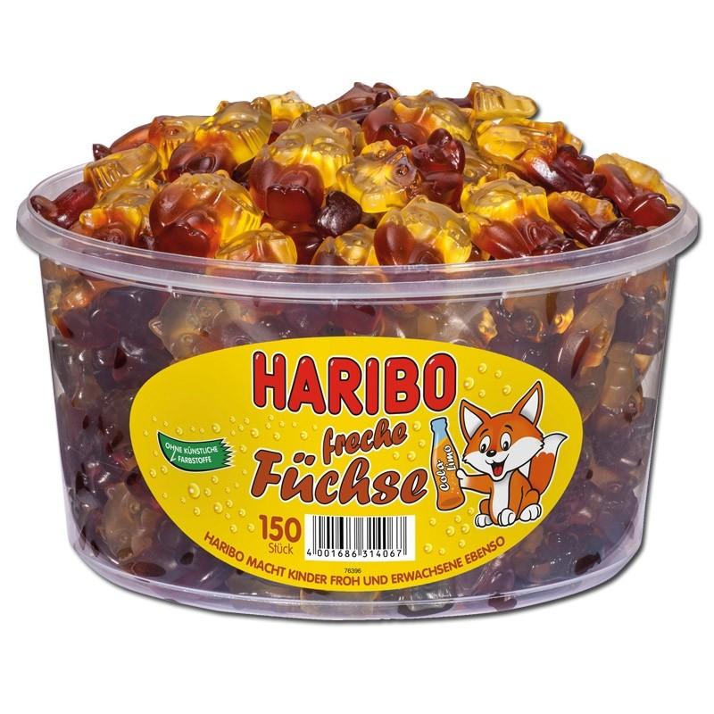 Haribo-Freche-Füchse-Fruchtgummi-150-Stück