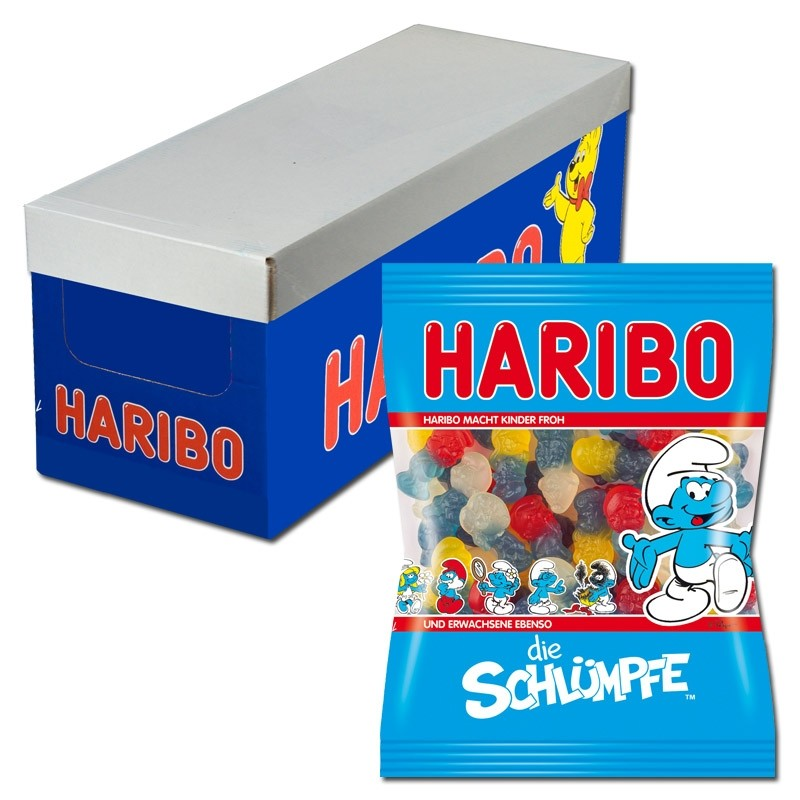 Haribo-Schlümpfe-200g-Fruchtgummi-18-Beutel