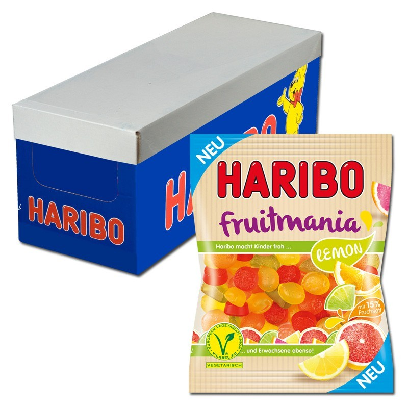 Haribo-Fruitmania-Lemon-Fruchtgummi-16-Beutel-je-175g