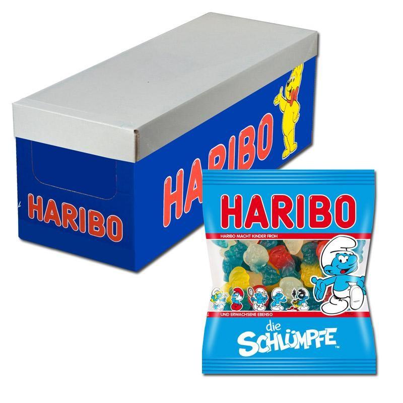 Haribo-Schlümpfe-Fruchtgummi-30-Beutel-100g_1
