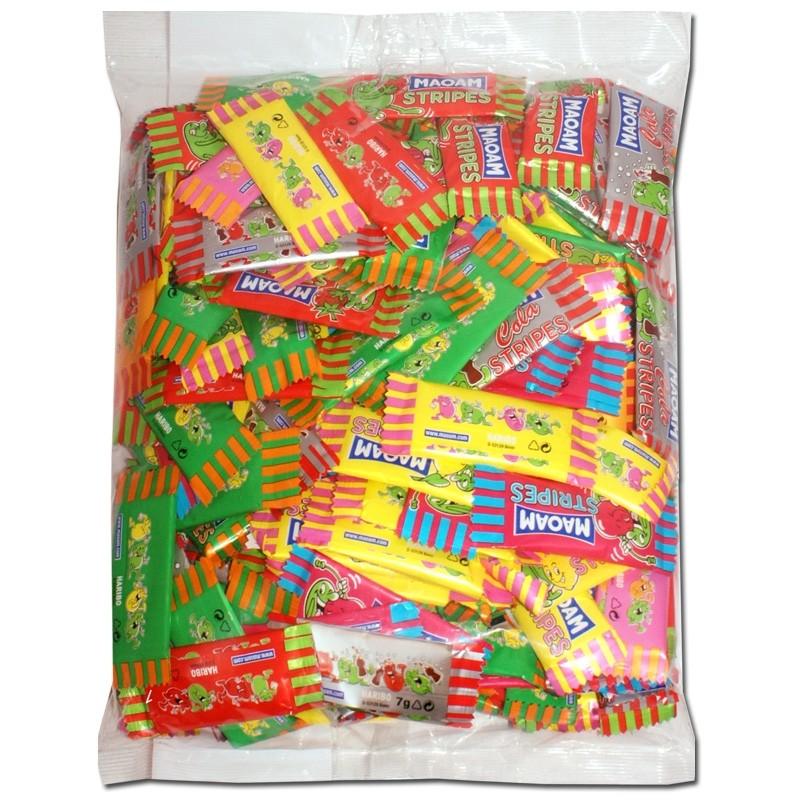 Haribo-Maoam-Mini-Stripes-ca-170-Stück-im-Polybeutel