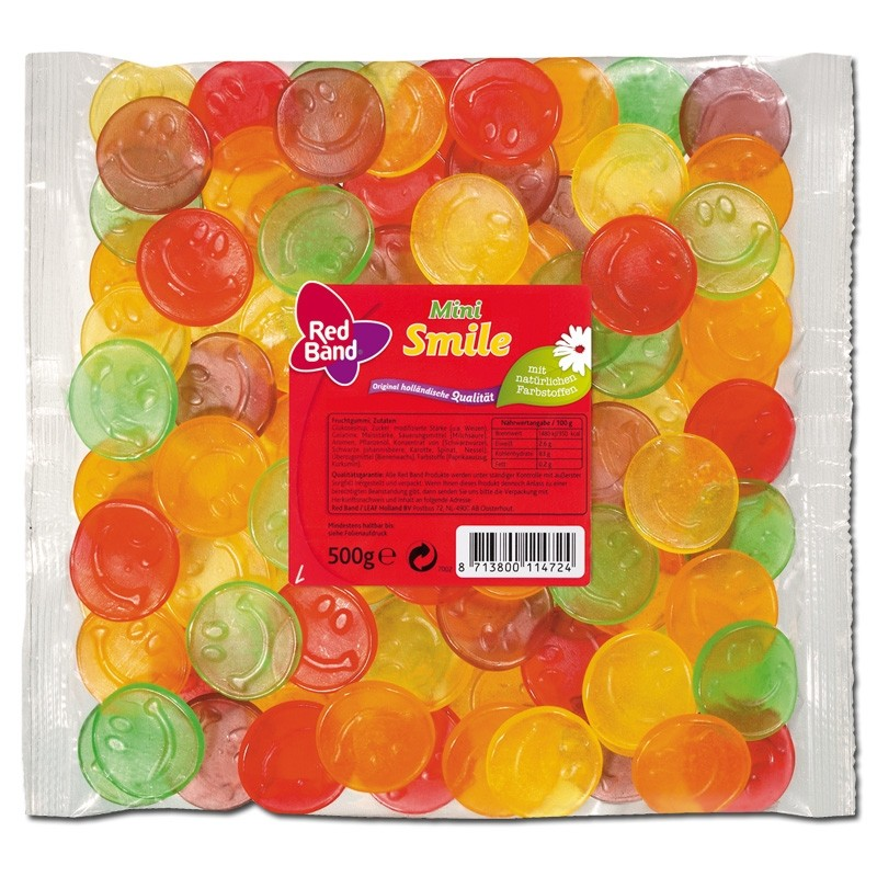 Red-Band-Mini-Smile-Fruchtgummi-500g-Beutel-5-Stück