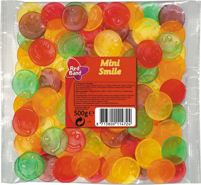 Red-Band-Mini-Smile-Fruchtgummi-500g-Beutel-5-Stueck