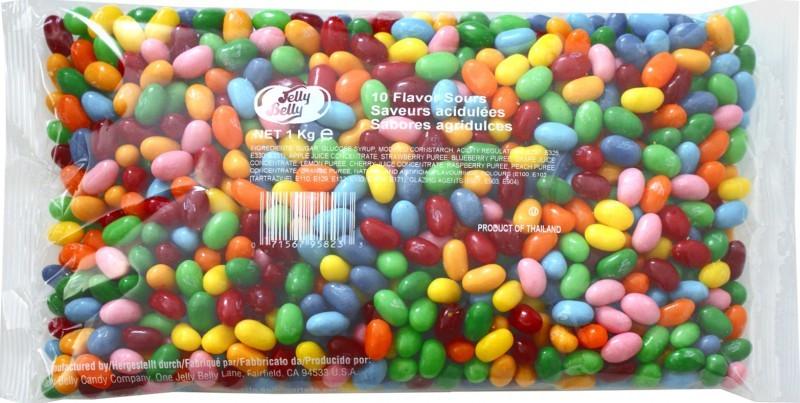 Jelly-Belly-Saure-Fruechte-1kg-Beutel-5-Sorten-Mix