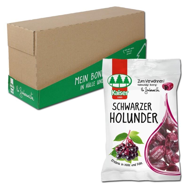 Kaiser-Schwarzer-Holunder-90g-Bonbons-18-Beutel