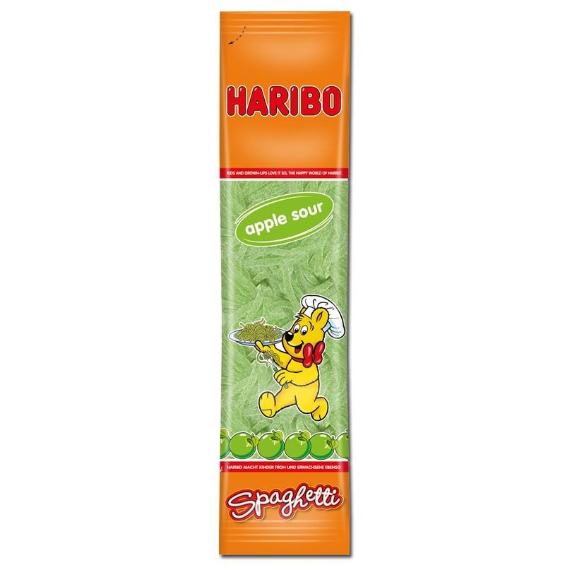 Haribo-Spaghetti-Apfel-Saure-Schnüre-200g-Beutel