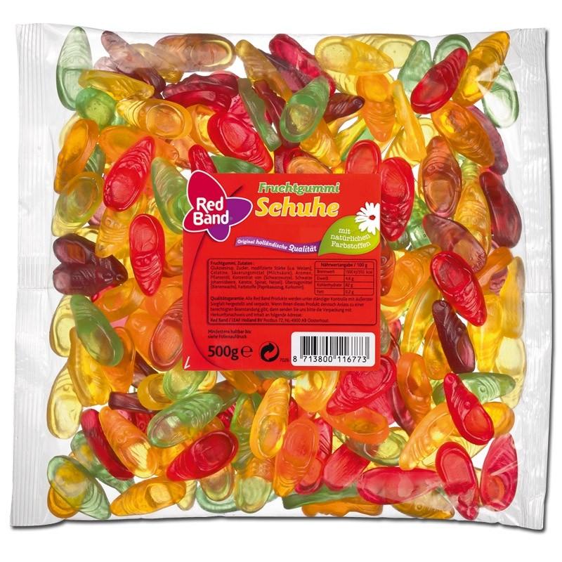 Red-Band-Fruchtgummi-Schuhe-500-g-Beutel