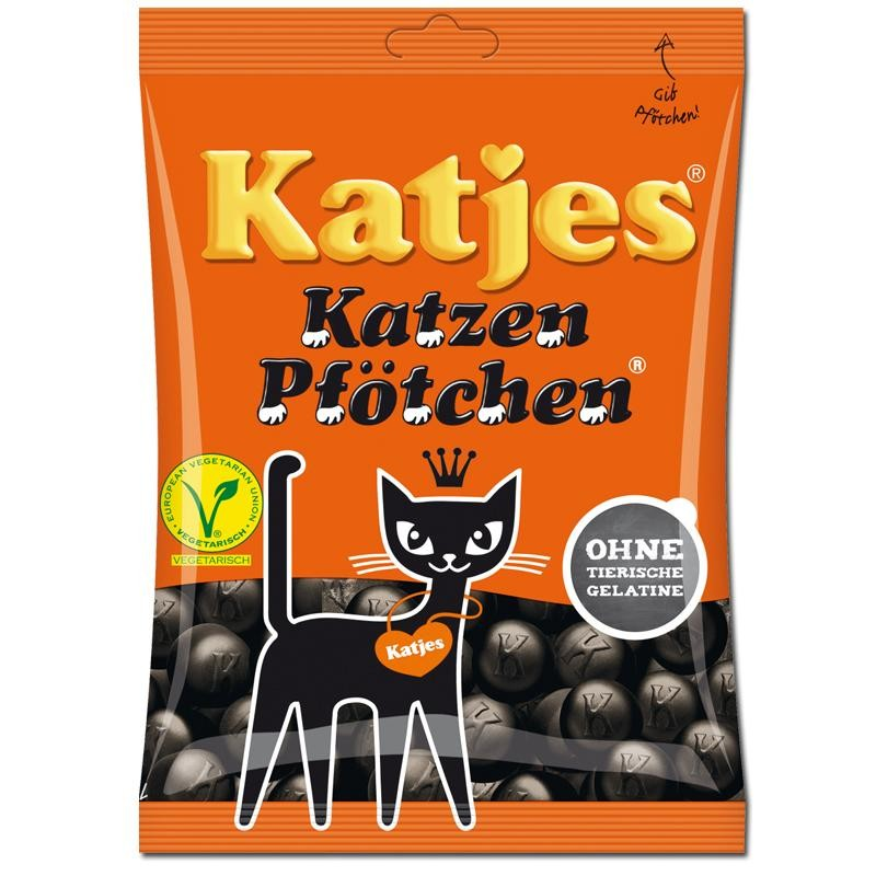Katjes-Katzen-Pfoetchen-200g-Lakritz-5-Beutel