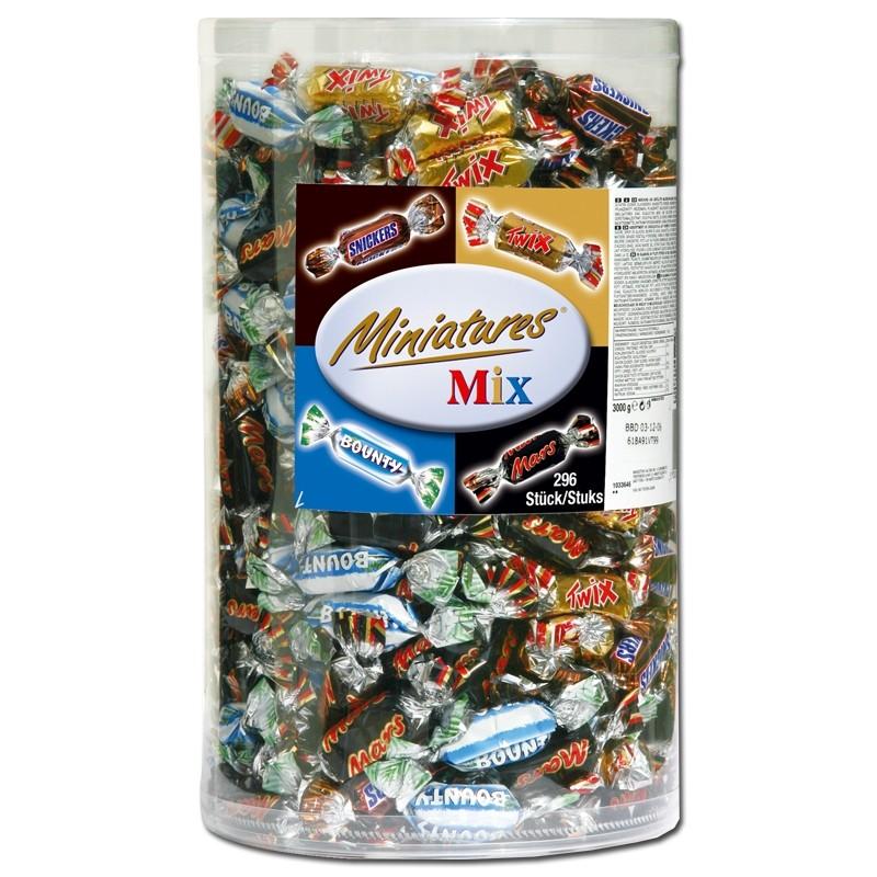 Mars-Miniatures-Mix-3-kg-Riegel-Schokolade
