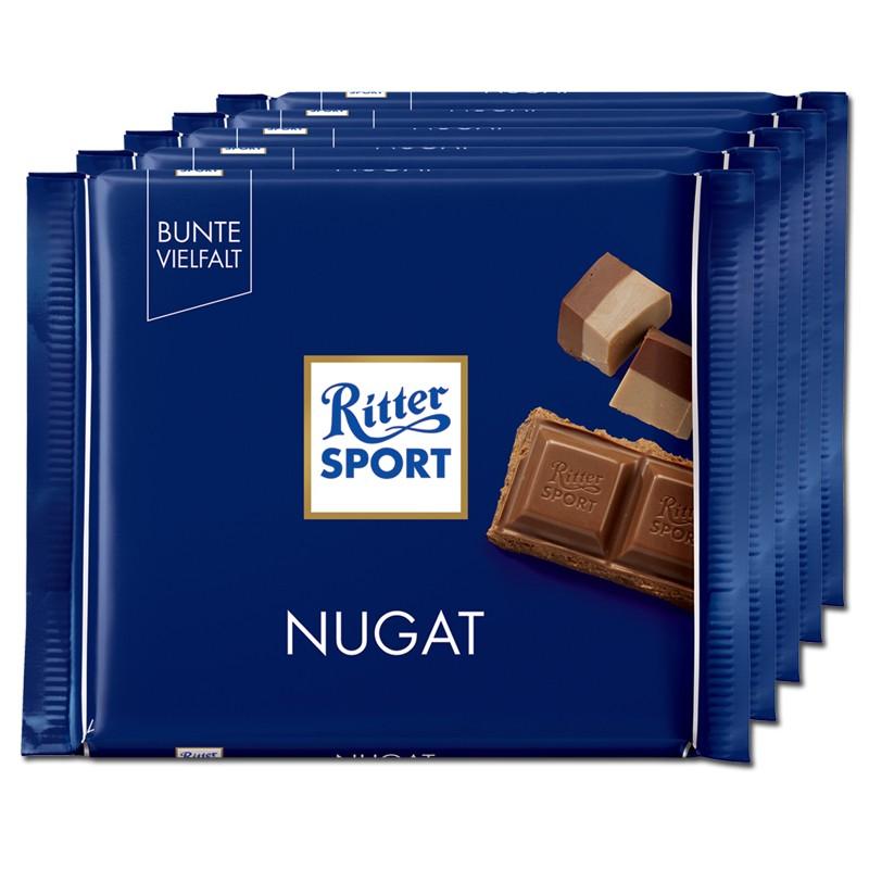 Ritter-Sport-Nugat-Schokolade-5-Tafeln