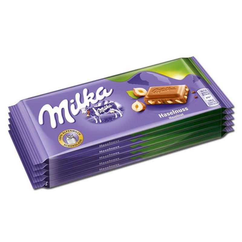 Milka-Haselnuss-Schokolade-5Tafeln