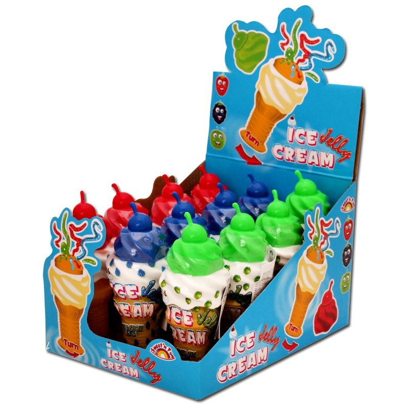 Ice-Cream-Candy-Gel-Lutscher-Candy-Creme-12-Stueck