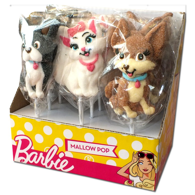 Barbie-Puppy-Marshmallow-Pop-Schaumzucker-12-Stück-je-35g