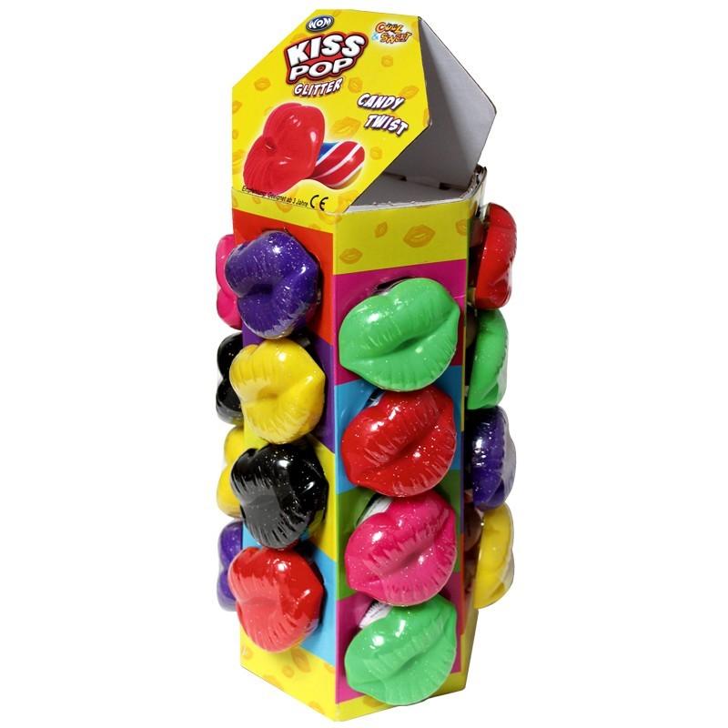 Kiss-Pop-Mix-Twister-Lutscher-mit-Lippenmotiv-24-Stueck