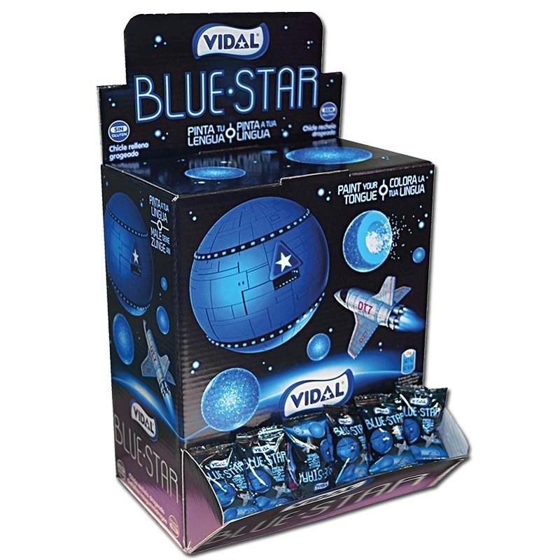 Vidal-Blue-Star-Kaugummi-gefuellt-Bubble-Gum-200-Stueck_1