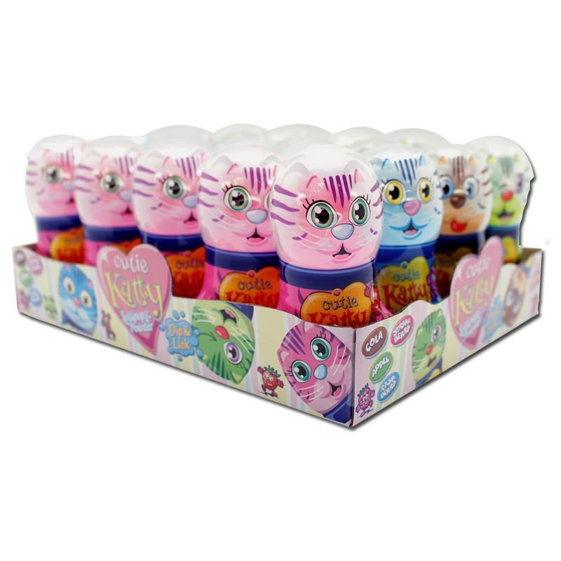 Cutie-Katty-Candy-Kätzchen-Lutscher-20-Stück-je-35g