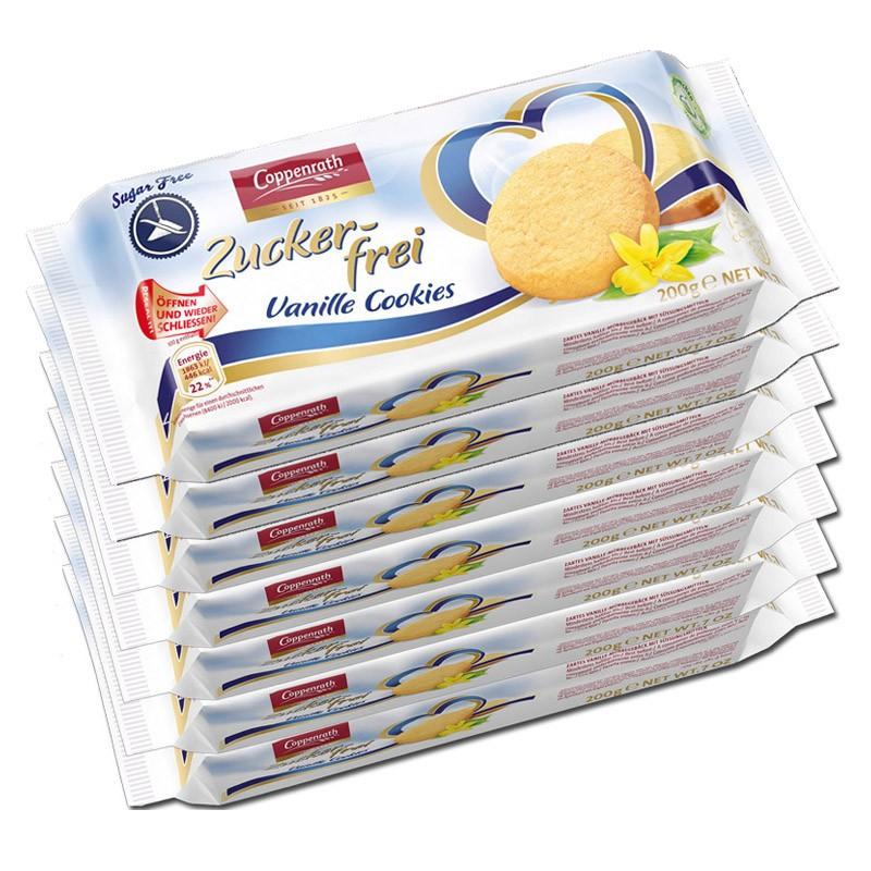 Coppenrath-Vanille-Cookies-zuckerfrei-Kekse-7-Packungen-je-200g