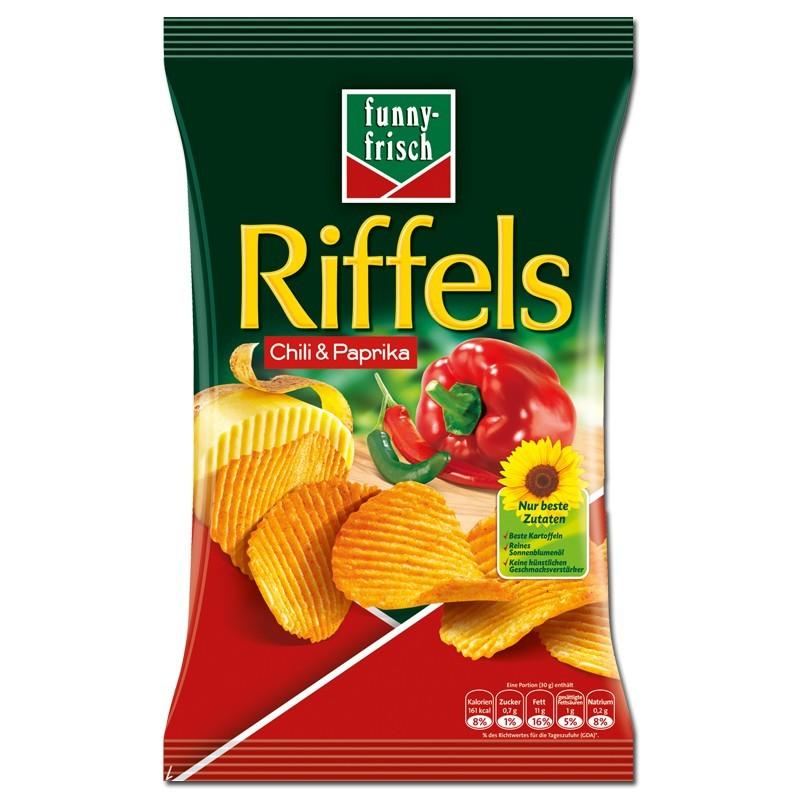 Funny-Frisch-Riffels-Chili-Paprika-150g-Chips-10-Btl_1