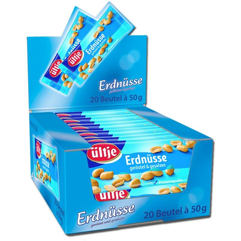 Ültje-Erdnüsse-gesalzen-50g-Knabberartikel-20-Beutel