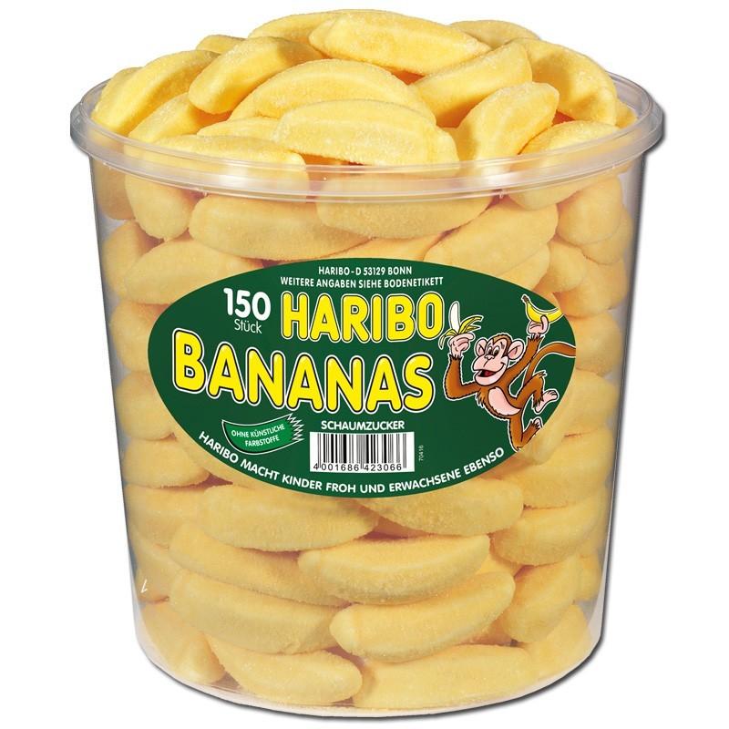 Haribo-Bananas-Schaumzucker150-Stueck