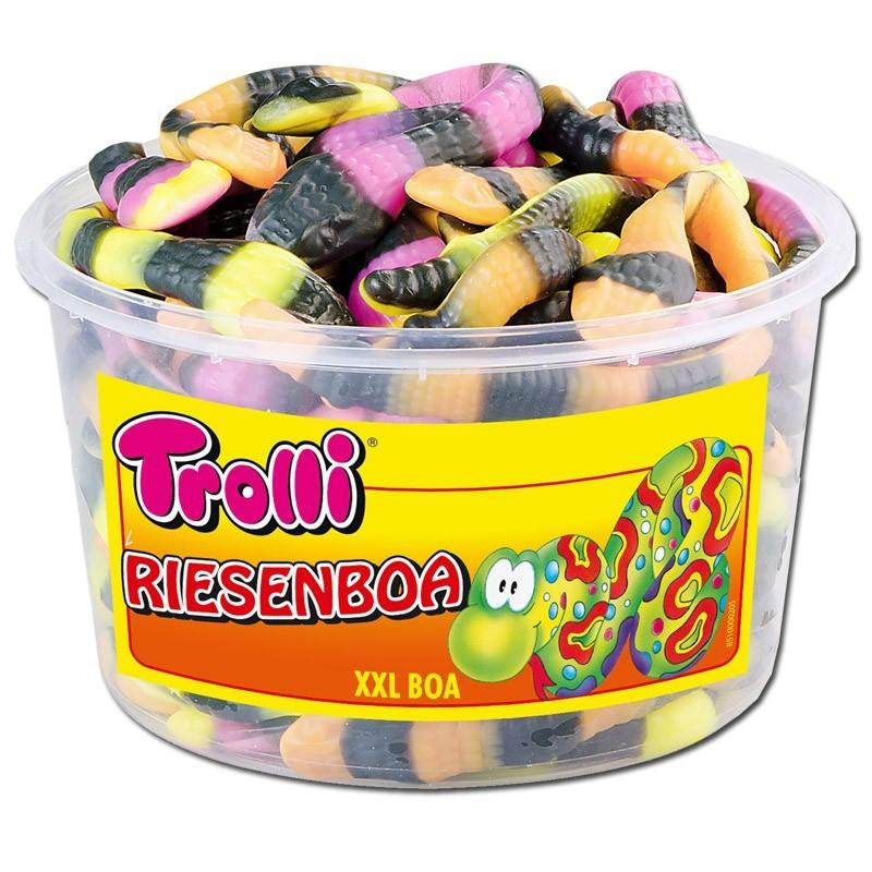 Trolli-Riesen-Boa-Fruchtgummi-Schaumzucker-30-Stueck