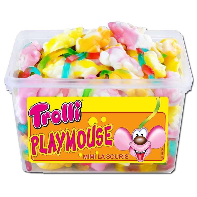 Trolli-Playmouse-Schaumzucker-Mäuse-Fruchtgummi-75-Stück