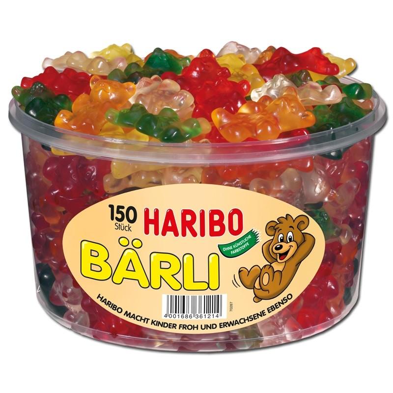 Haribo-Bärli-Fruchtgummi-150-Stück