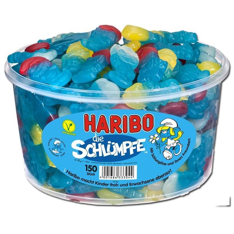 Haribo-Schlümpfe-Fruchtgummi-150-Stück