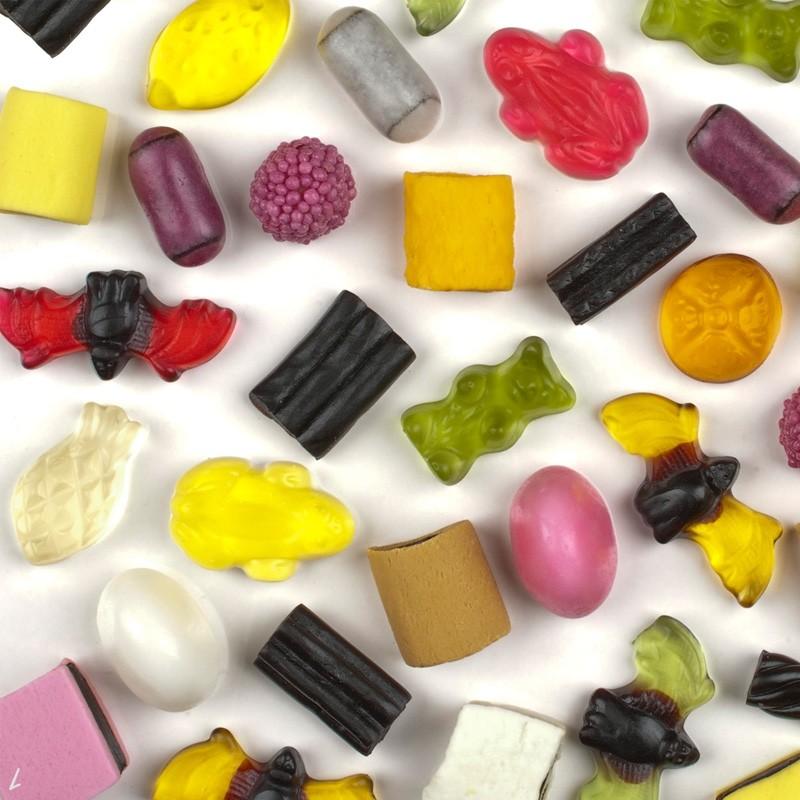 Haribo-Color-Rado-Kilo-Ware-3kg-Fruchtgummi-Lakritz
