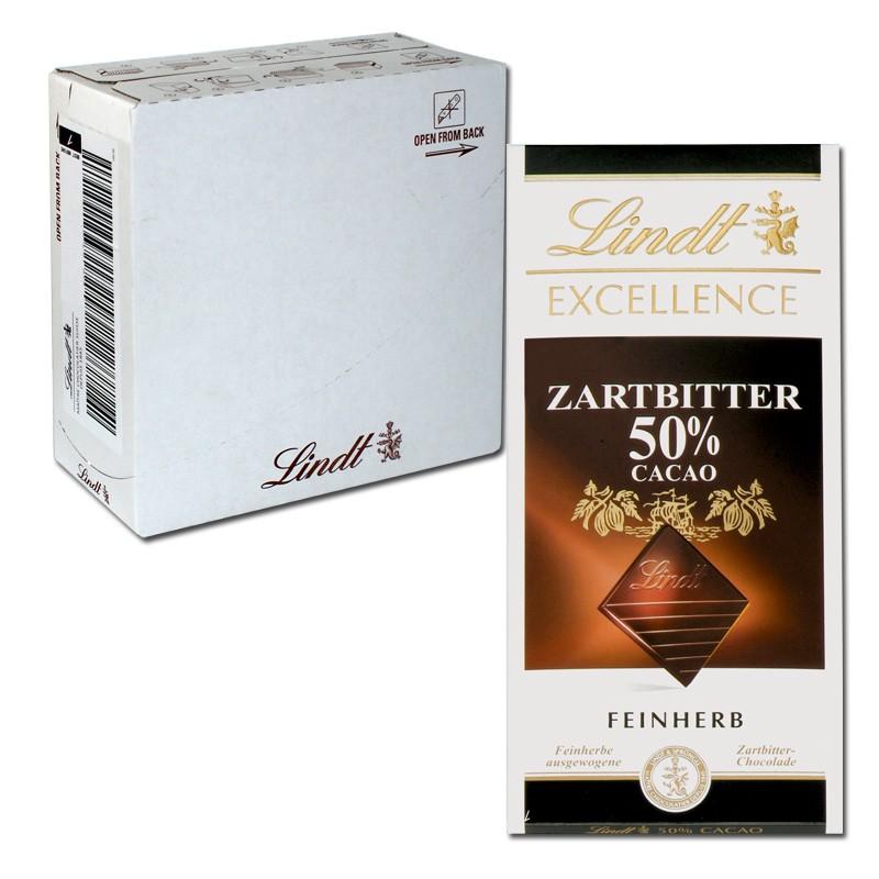 Lindt-Excellence-Zartbitter-50Prozent-Cacao-100g-20-Tafeln