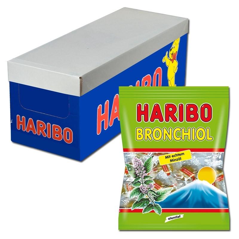 Haribo-Bronchiol-Minze-100g-Btl-Fruchtgummi-10Stk