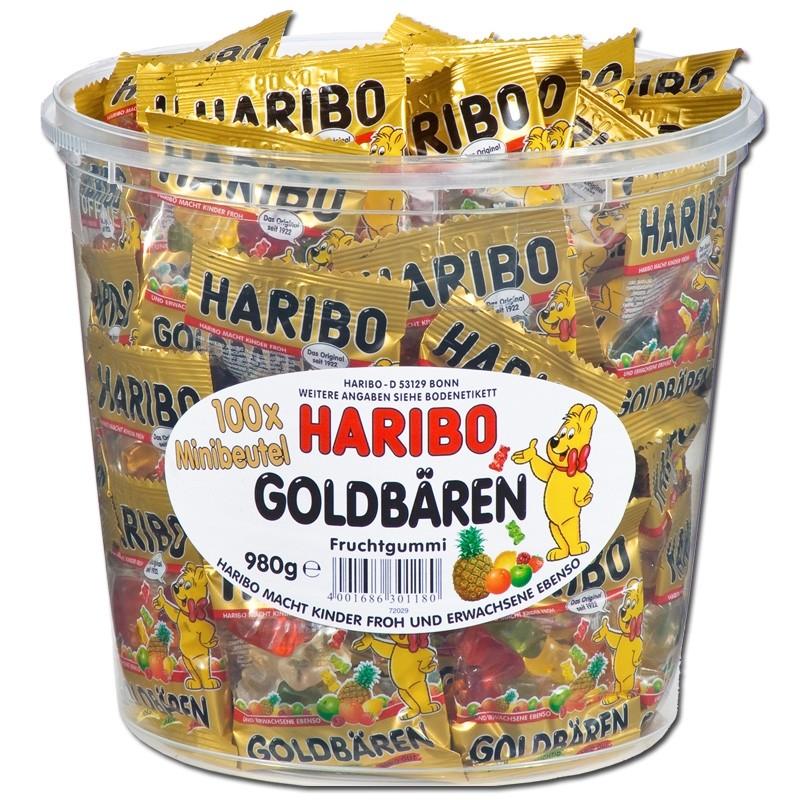 Haribo-Goldbären-Minibeutel-Fruchtgummi-100-Beutel