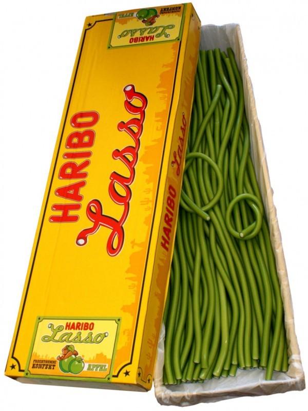 Haribo-Lasso-Apfel-Konfekt-Schlangen-65-cm-50-Stueck
