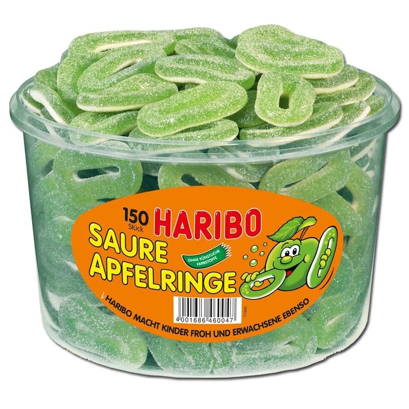 Haribo-Saure-Apfel-Ringe-Fruchtgummi-sauer-150-Stück