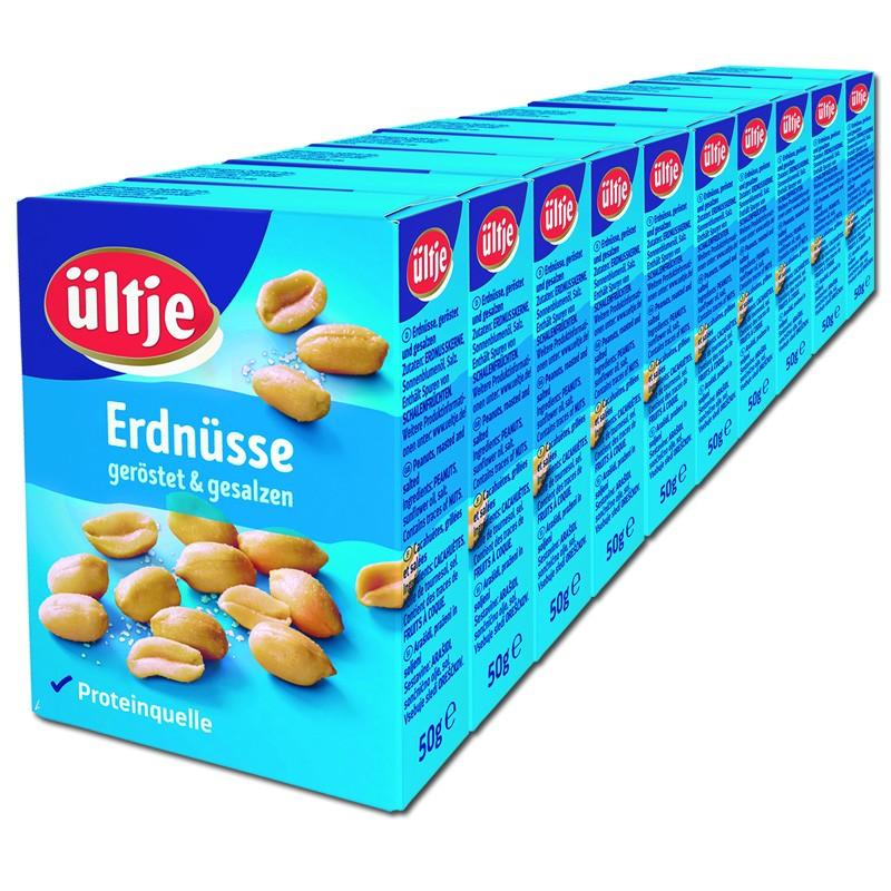 Ültje-Erdnüsse-gesalzen-50g-Knabberartikel-10Schachteln
