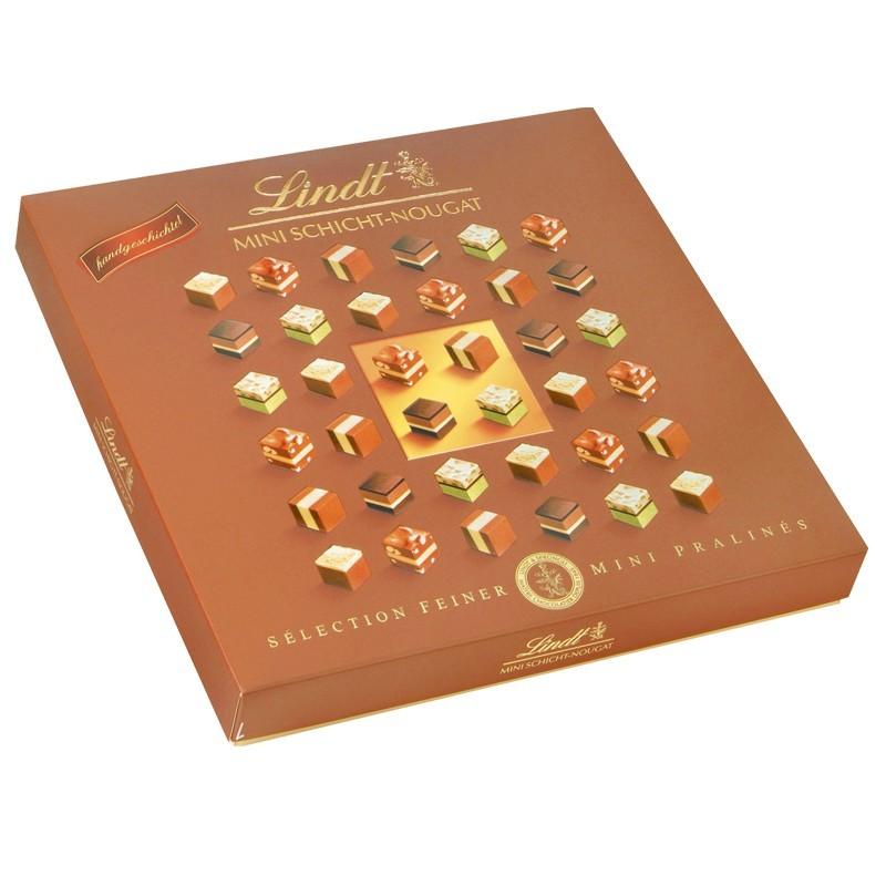 Lindt-Mini-Schicht-Nougat-Pralines-165g-4-Packungen