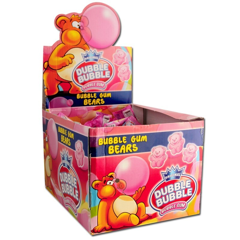 Dubble-Bubble-Kaugummi-Baerchen-Bubble-Gum-Bears-150-Stueck_2