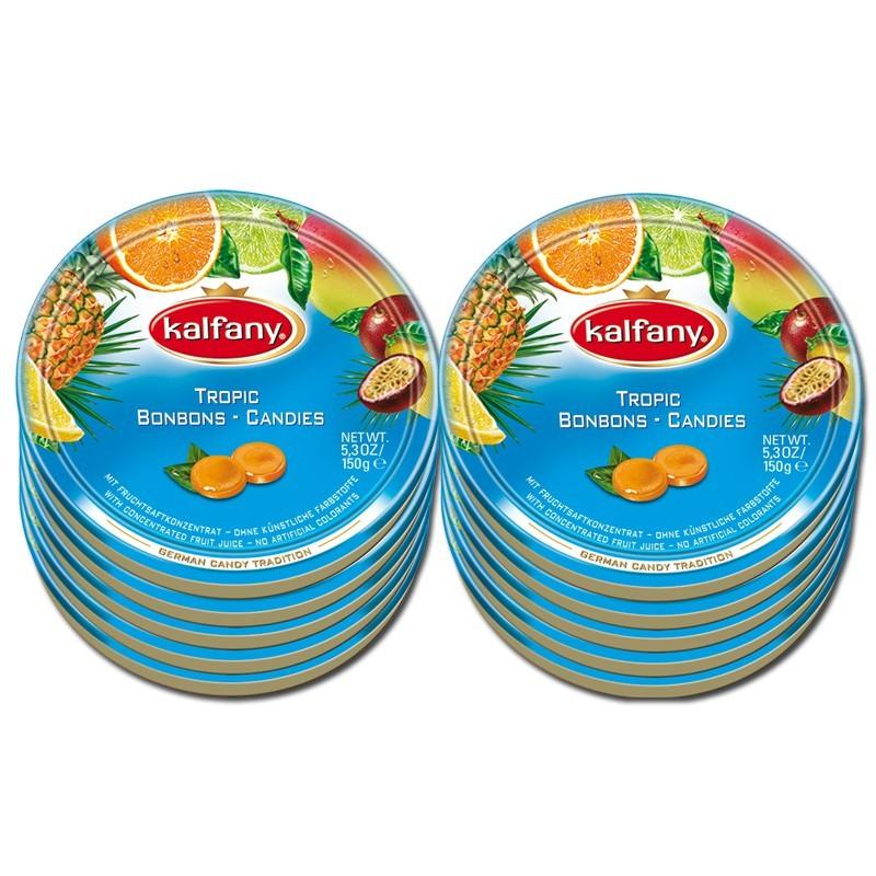 Kalfany-Tropic-Bonbon-150g-Dose-10-Stueck