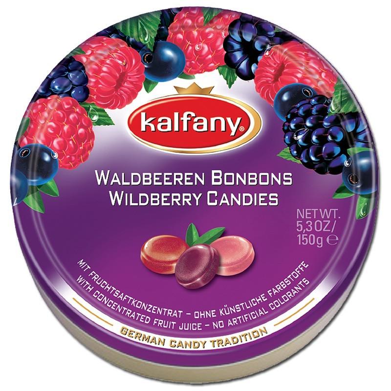 Kalfany-Waldbeeren-Bonbon-150g-Dose-10-Stueck