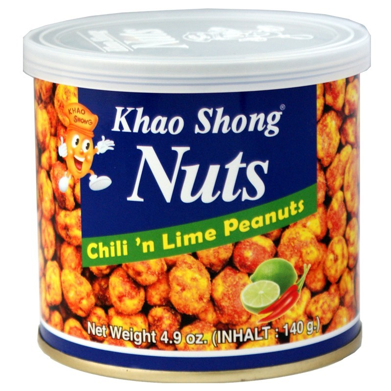 Khao-Shong-Erdnuesse-mit-Chili-und-Lime-140g-Dose