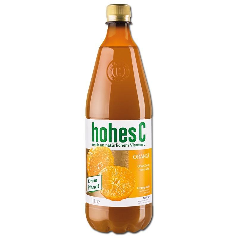 Hohes-C-Orange-1Liter-Orangen-Saft-6-Flaschen