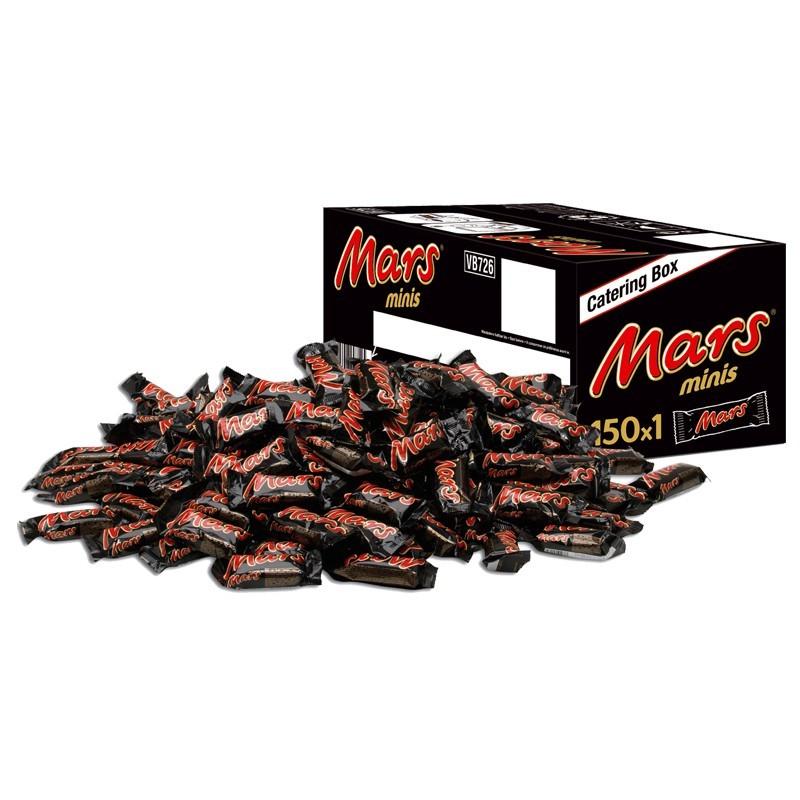 Mars-Minis-Grossverbrauchergebinde-Schokolade150Riegel