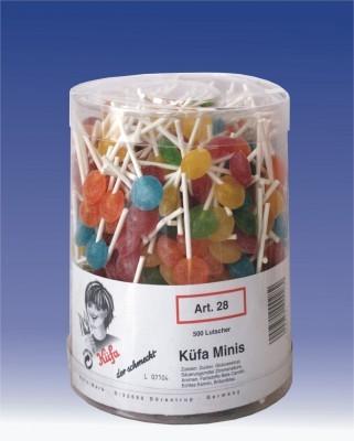 Kuefa-Minis-bunt-kleine-Lutscher-Lolly-500-Stueck