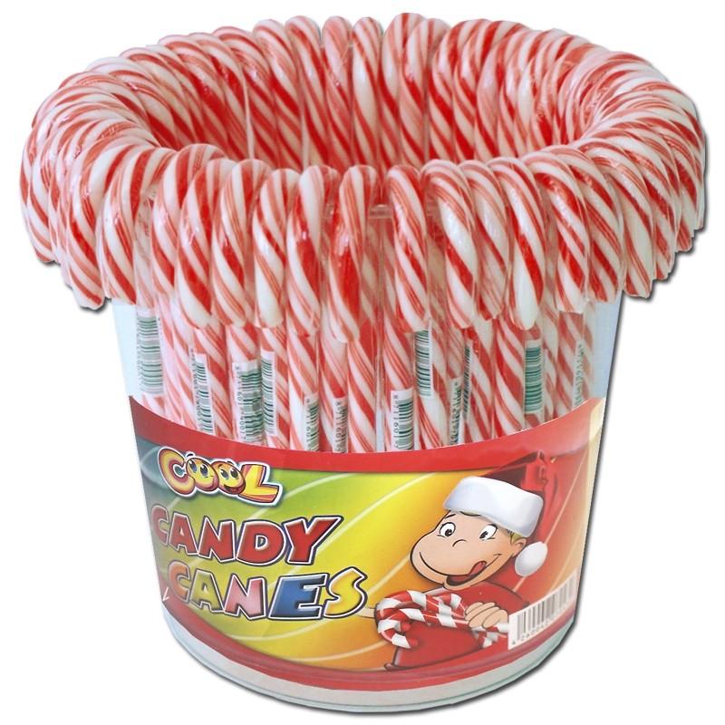 Zuckerstange-Schirme-rot-weiß-gebogen-50-Stück