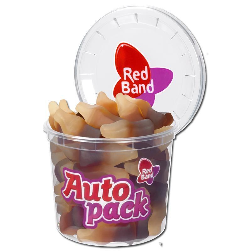 Red-Band-Autopack-Cola-Flaeschchen-Fruchtgummi-12-Dosen-je-200g