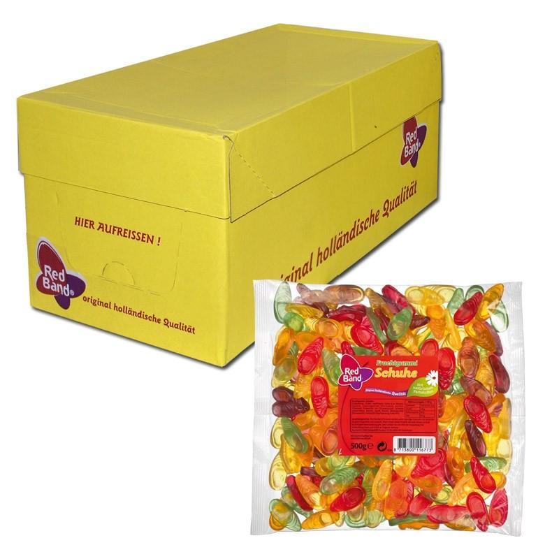 Red-Band-Fruchtgummi-Schuhe-500g-Beutel-12-Stück