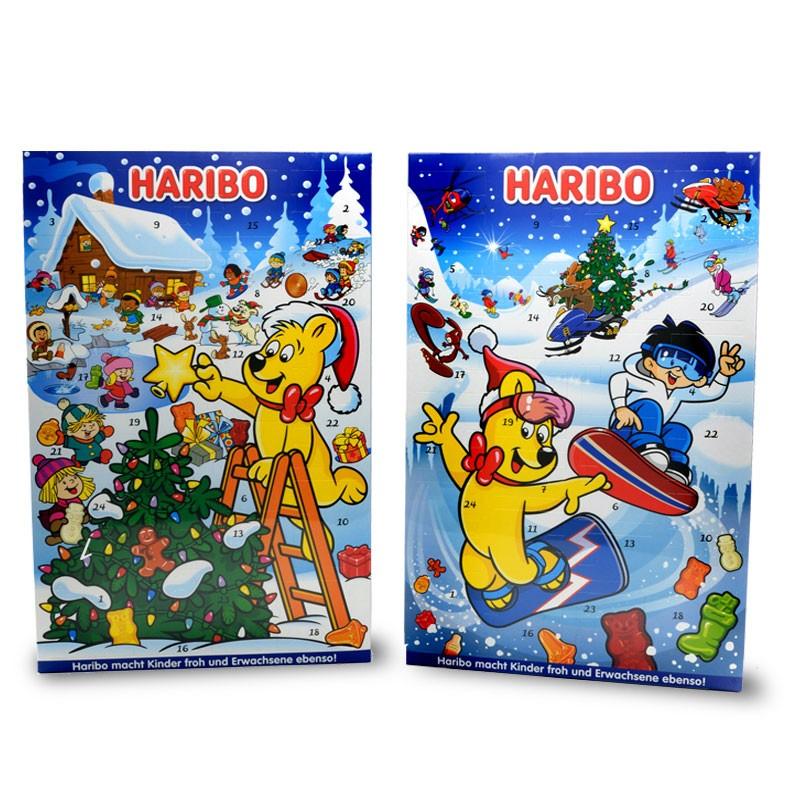 Haribo-Adventskalender-Fruchtgummi-Schaumzucker-300g