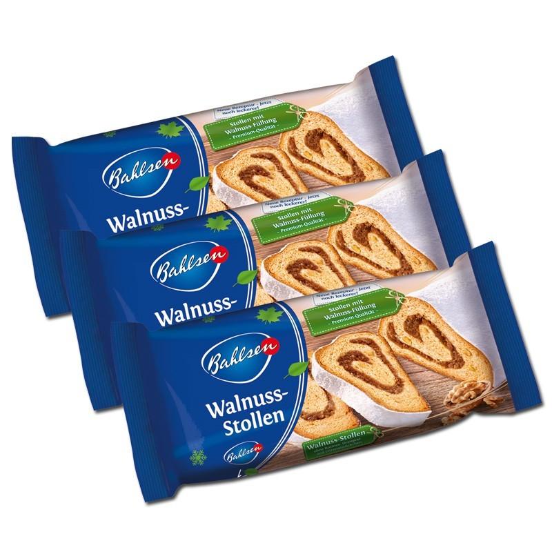 Bahlsen-Walnuss-Stollen-400g-Kuchen-Gebaeck-3-Stueck