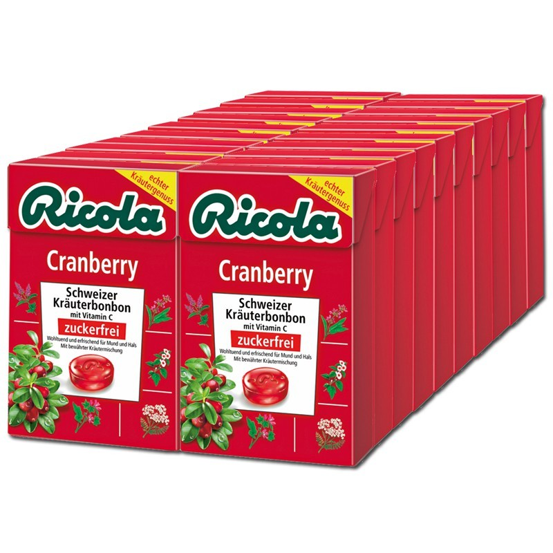 Ricola-Schweizer-Kraeuter-Bonbons-Cranberry-20-Boxen