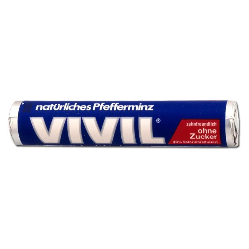 Vivil-Rolle-blau-ohne-Zucker-Pfefferminz-Bonbons-50-Stk